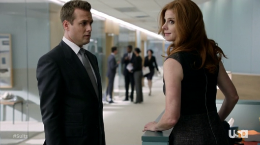 Harvey / Donna - Suits - © USA Network